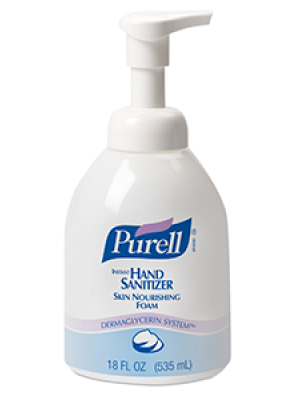 3143-0139 - PURELL® SKILCRAFT™ Advanced Skin Nourishing Hand Sanitizer Foam - 535 mL Pump Bottle