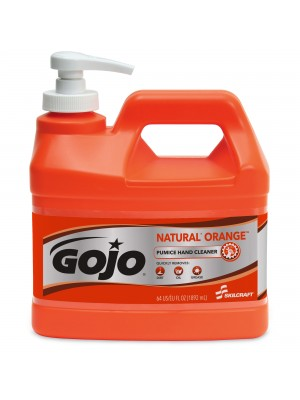 3143-0076 - GOJO® SKILCRAFT® NATURAL ORANGE™ PUMICE HAND CLEANER - 1/2 Gallon
