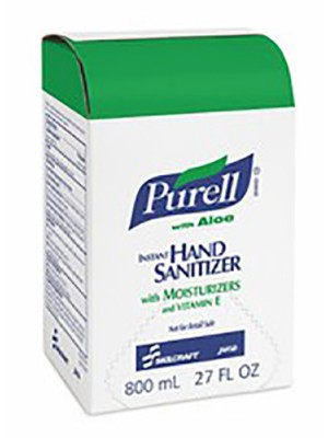 3143-0071 - PURELL® SKILCRAFT™ ADVANCED WITH ALOE INSTANT HAND SANITIZER GEL - 800 mL Refill