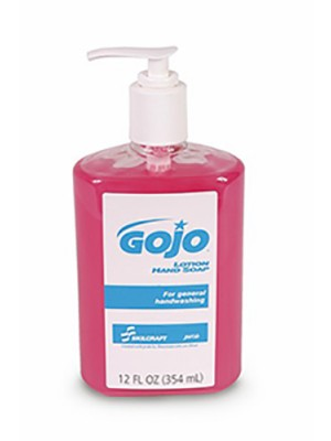 3143-0079 - GOJO® SKILCRAFT® DELUXE LOTION HAND SOAP - 12 oz Bottle
