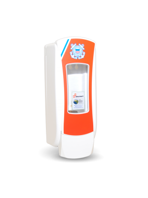 3141-0067 - GOJO® SKILCRAFT® ADX-12™ Dispenser - White Featuring U.S. Coast Guard Graphics