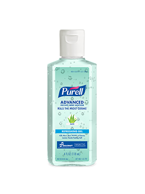 3143-0073 - PURELL® SKILCRAFT™ Advanced with Aloe Instant Hand Sanitizer Gel - 4 fl oz