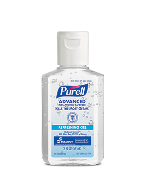3143-0100 - PURELL® SKILCRAFT™ Advanced Instant Hand Sanitizer with Biobased Content - Gel - 2 fl oz