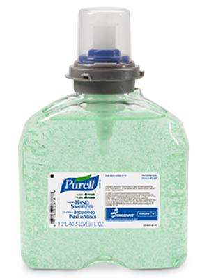 3143-0131 - PURELL® SKILCRAFT™ Advanced with Aloe Instant Hand Sanitizer - Gel - 1000 mL TFX refill