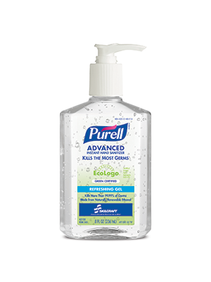 3143-0144 - PURELL® SKILCRAFT™ Advanced Green Certified Instant Hand Sanitizer - Gel - 8 fl oz