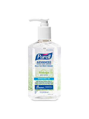 3143-0145 - PURELL® SKILCRAFT™ Advanced Green Certified Instant Hand Sanitizer - Gel - 12 fl oz
