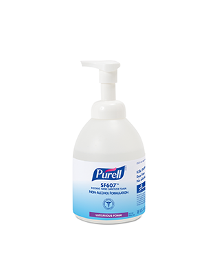3143-0160 - PURELL® SKILCRAFT™ SF607™ Instant Hand Sanitizer - Foam - 535 mL