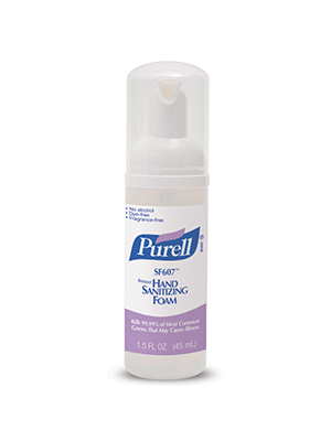 3143-0161 - PURELL® SKILCRAFT™ SF607™ Instant Hand Sanitizer  - Foam - 45 mL Pump Bottle