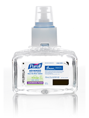 3143-0174 - PURELL® SKILCRAFT™ Advanced Green Certified Hand Sanitizer Foam - 700 mL LTX-7™ Refill