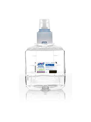 3143-0178 - PURELL® SKILCRAFT™ Advanced Green Certified Instant Hand Sanitizer - Foam - 1200 mL Refill