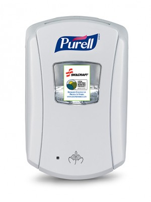 3141-0072 - PURELL® SKILCRAFT™ LTX-7™ Dispenser - White