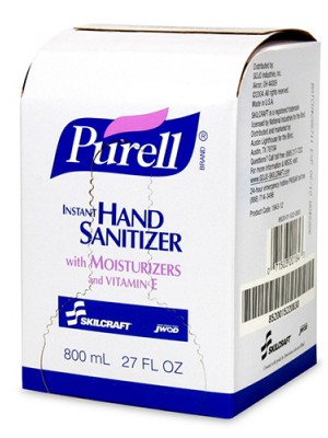 3143-0066 - PURELL® SKILCRAFT™ INSTANT HAND SANITIZER GEL - 800 mL
