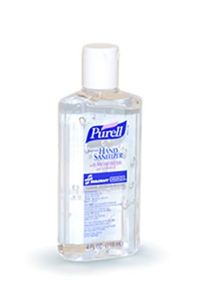 3143-0069 - PURELL® SKILCRAFT™ Advanced Hand Sanitizer Gel - 4 fl oz Flip Cap Bottle