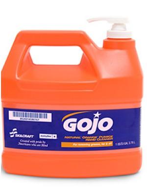 3143-0075 - GOJO® SKILCRAFT® NATURAL ORANGE™ PUMICE HAND CLEANER - 1 Gallon