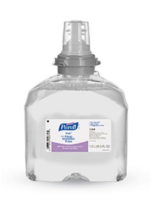 3143-0162 PURELL® SKILCRAFT™ SF607™ Non-Alcohol Hand Sanitizer Foam - 1200 mL TFX™ Refill