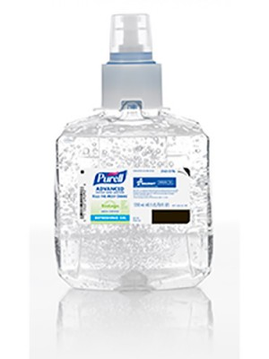 3143-0176- PURELL® SKILCRAFT™ Advanced Green Certified Hand Sanitizer Gel - 1200 mL LTX-12™ Refill