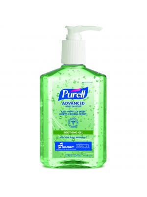 3143-0074 - PURELL® SKILCRAFT® Advanced Hand Sanitizer Soothing Gel -12 fl oz Pump Bottle