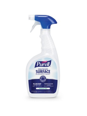 3800-0001 - PURELL® Healthcare Surface Disinfectant - 32 fl oz Capped Bottle with Spray Trigger in Pack